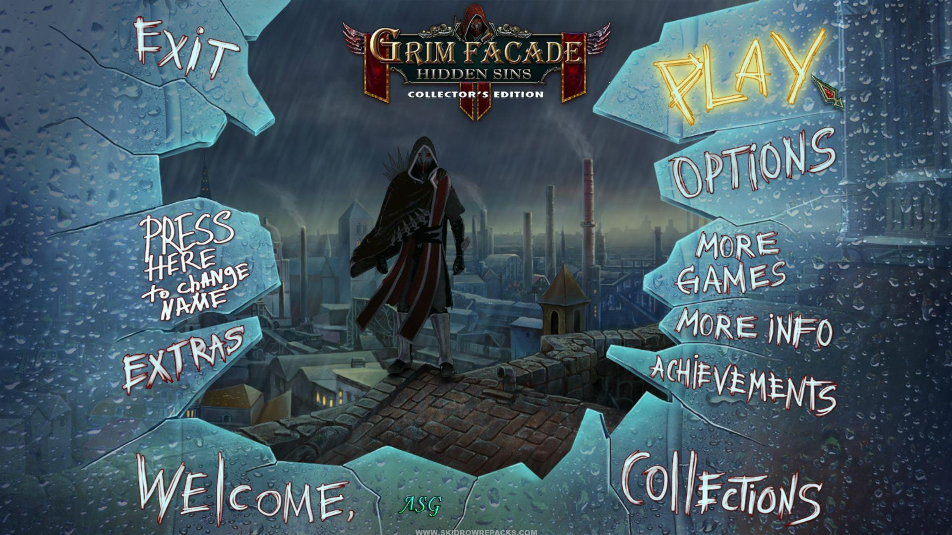 Grim Facade – Hidden Sins Collectors Edition Full Crack