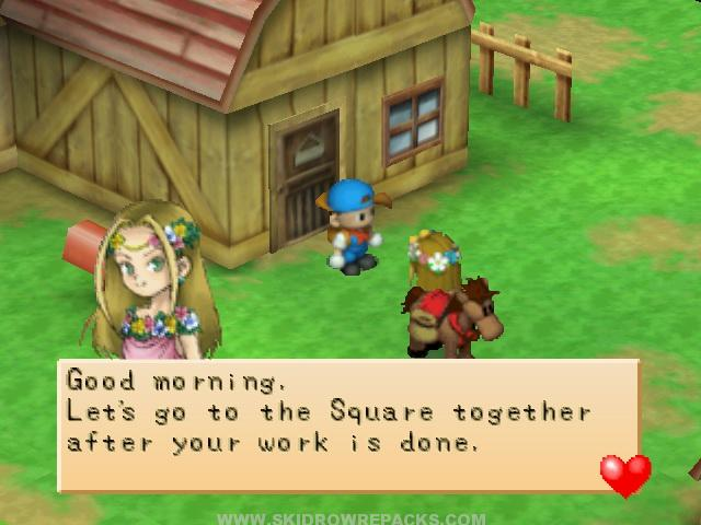Free Download Game Harvest Moon Back To Nature