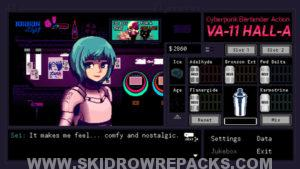 VA-11 Hall-A Cyberpunk Bartender Action Free Download