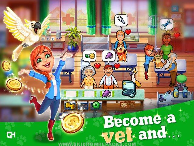 Dr. Cares – Pet Rescue 911 Platinum Edition Free Download
