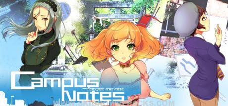 Campus Notes - forget me not Full Version