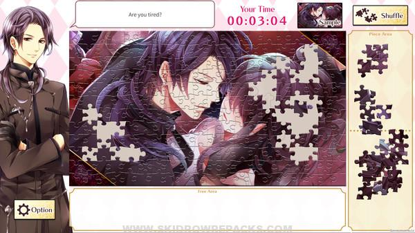 Otome Romance Jigsaws - Midnight Cinderella & Destined to Love